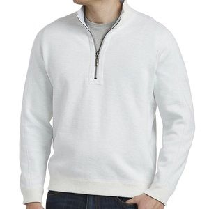 Tommy Bahama flip sider half zip sweater